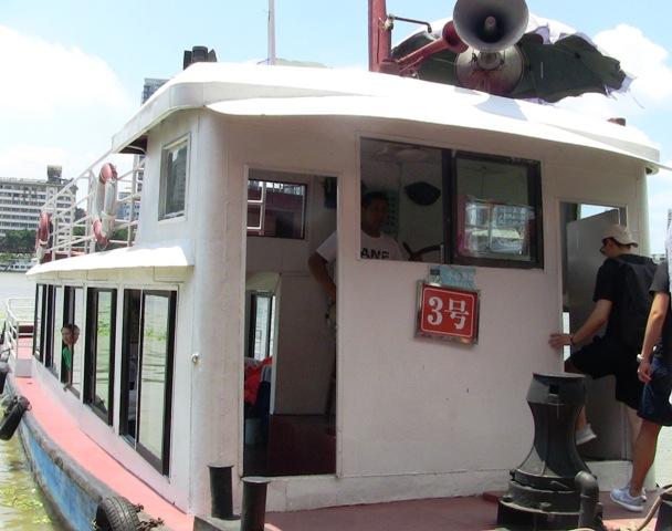 『 【楽山大仏】ツアーか路線バス利用は現地決定が得策かも? 』 ..カズは3号船に乗船しました。..