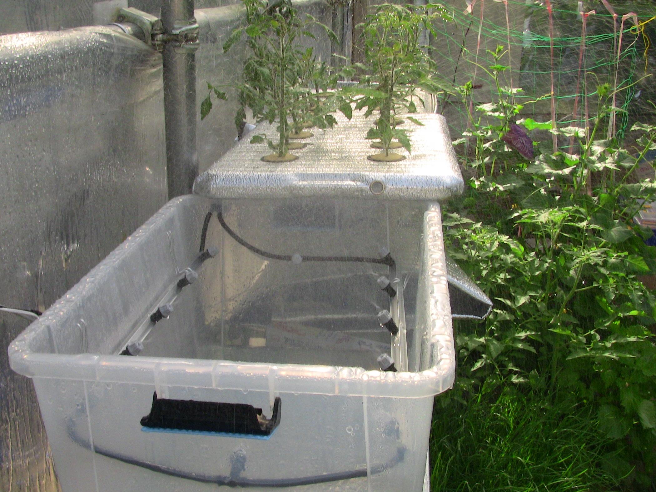 『 噴霧式(エアロポニック)水耕栽培装置を自作してみた 』 について詳しく記しています。**太郎よりずっと大きく相当リーズナブルです。..そしてこちらが2号機になります。1号機と同じように勢いよく噴霧されています。..