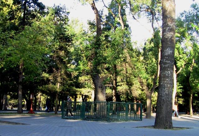 『 北京のパワースポット皇帝が天に祈りを奉げた天壇・入場料と行き方 』 ..入り口は小さいのですが、中はとてつもなく広大です。現在は公園として整備されています。..