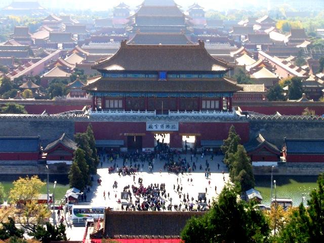 『 【北京紫禁城】歴代皇帝お気に入り景山公園の入場料と行き方 』 ..(カズは午後には天壇公園を訪れましたがすばらしい眺めでした。)..