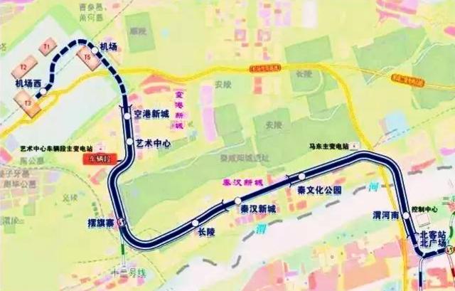 『 【中国】西安地下鉄の2020年路線図(地図)と乗り方 』 ..既に高速鉄道駅である西安北駅には地下鉄2号線が乗り入れていますので4号線(2018年開通)と共に空港線が開通したことで西安空港T1~T4(T5未開通)と西安市内まで地下鉄で移動できるようになり、西安地下鉄の利便性が更に向上しました。..