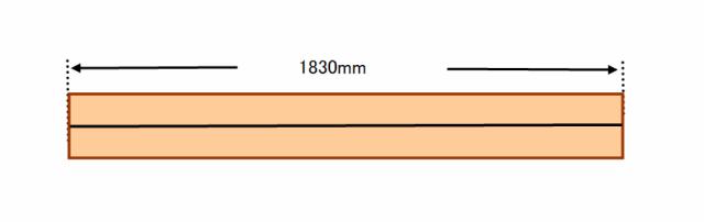 『 ベランダに置けるおしゃれな焼杉風プランター棚の作り方 』 ..ワンバイフォーを4枚カットして計8本のワンバイツーを作成します。..
