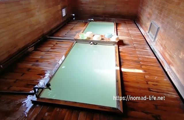『 【恐山イタコと温泉】世にも奇妙なパワースポット 』 ..お湯は熱めですが水で温度調整が出来ます。..